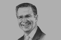 Sketch of <p>Andrew Géczy, CEO of International and Institutional Banking</p>