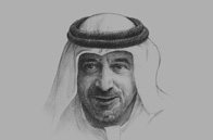 Sketch of <p>Ahmed bin Saeed Al Maktoum, Chairman, Dubai Expo 2020 Preparatory Higher Committee</p>