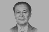 Sketch of <p>Le Luong Minh, Secretary-General, Association of South-East Asian Nations (ASEAN)</p>