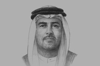 Sketch of <p>Ali Majed Al Mansoori, Chairman, Abu Dhabi Department of Economic Development (ADDED)</p>