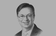 Sketch of <p>Alex Thursby, Group CEO, National Bank of Abu Dhabi (NBAD)</p>