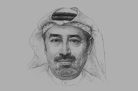 Sketch of <p>Tirad Al-Mahmoud, CEO, Abu Dhabi Islamic Bank</p>