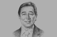 Sketch of <p>Alfred M Yao, President, Philippine Chamber of Commerce and Industry (PCCI)</p>