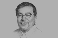 Sketch of <p>Ramon R Jimenez Jr, Secretary, Department of Tourism (DoT)</p>