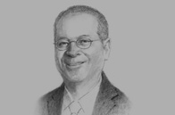 Sketch of <p>Ramon S Ang, Vice-Chairman, President and COO, San Miguel Corporation</p>