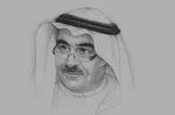Sketch of <p>Adel Fakeih, Saudi Minister of Labour</p>