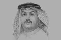 Sketch of <p>Khalid bin Mohammed Al Attiyah, Minister of Foreign Affairs</p>
