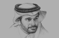 Sketch of <p>Hassan Al Thawadi, Secretary-General, Supreme Committee for Delivery & Legacy (SC)</p>