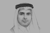 Sketch of <p>Mohammed Abdul Wahed Ali Al Hammadi, Minister of Education and Higher Education</p>