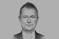 Sketch of <p>OBG talks to Georg Wilfried Schmidt, Regional Director for Sub-Saharan Africa and the Sahel, German Federal Foreign Office</p>