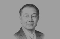 Sketch of <p>Valuable lessons: Dr Jim Yong Kim, President, World Bank Group, on the development lessons Turkey can share with the world</p>