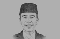Sketch of <p>President Joko Widodo</p>