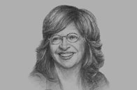 Sketch of <p>Cecilia Álvarez-Correa, Colombian Minister of Trade, Industry and Tourism</p>
