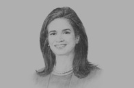 Sketch of <p>Development first: OBG talks to Isabel de Saint Malo de Alvarado, Vice-President and Minister of Foreign Affairs</p>