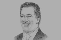 Sketch of <p> José Antonio Meade Kuribreña, Mexican Secretary of Foreign Affairs</p>
