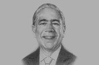 Sketch of <p>Angel Gurría, Secretary General, Organisation for Economic Cooperation and Development</p>