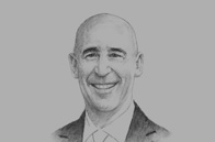 Sketch of <p> José Marcos Ramírez, CEO, Grupo Financiero Banorte </p>