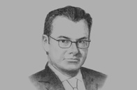 Sketch of <p>Luis Videgaray Caso, Minister of Finance and Public Credit</p>