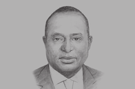 Sketch of <p>Henry Rotich, Cabinet Secretary, National Treasury</p>