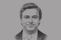 Sketch of <p>Carlo Calenda, Deputy Minister of Economic Development of Italy</p>