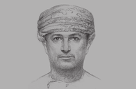 Sketch of <p>Sultan bin Salim Al Habsi, Secretary-General, Supreme Council for Planning (SCP)&nbsp;</p>