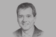 Sketch of <p>Alonso Segura, Minister of Economy and Finance</p>