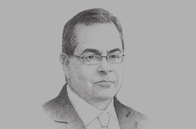 Sketch of <p>Jaime Saavedra, Minister of Education</p>