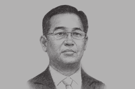 Sketch of <p>U Zay Yar Aung, Chairman, Myanmar Investment Commission (MIC)</p>
