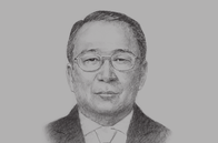 Sketch of <p>U Kyaw Kyaw Maung, Governor of the Central Bank of Myanmar (CBM) </p>