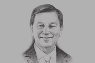 Sketch of <p>Liew Mun Leong, Chairman, Surbana Jurong and Changi Airport Group</p>