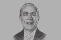Sketch of <p>José Ángel Gurría, Secretary-General, OECD</p>