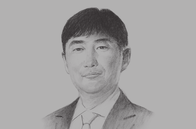 Sketch of <p>Seong Hyun Lee, President, Samsung Colombia<br /> </p>