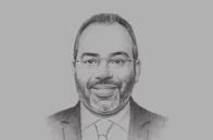 Sketch of <p>Carlos Lopes, Executive Secretary, UN Economic Commission for Africa</p>