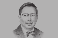 Sketch of <p>&nbsp;Roselan Johar Mohamed, Chairman, the Brunei Darussalam-Indonesia-Malaysia-Philippines East ASEAN Growth Area (BIMP-EAGA)&nbsp;</p>
