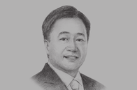 Sketch of <p>Cesar V Purisima, Secretary, Department of Finance</p>