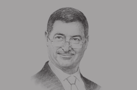 Sketch of <p>Habib Essid, Head of Government</p>