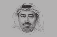 Sketch of <p>Tirad Al Mahmoud, CEO, Abu Dhabi Islamic Bank</p>