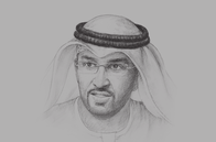Sketch of <p>Sultan Al Jaber, UAE Minister of State; and CEO, Abu Dhabi National Oil Company (ADNOC)</p>