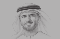 Sketch of <p>Mohamed Juma Al Shamisi, CEO, Abu Dhabi Ports</p>