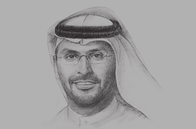 Sketch of <p>Khaldoon Khalifa Al Mubarak, Group CEO and Managing Director, Mubadala Development Company</p>