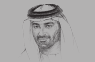 Sketch of <p>Mahmood Ebraheem Al Mahmood, CEO and Chairman, ADS Holding</p>