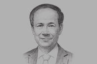 Sketch of <p>Le Luong Minh, Secretary-General, ASEAN</p>