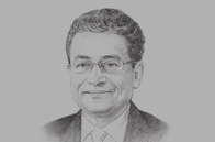 Sketch of <p>Jaseem Ahmed, Secretary-General, Islamic Financial Services Board</p>