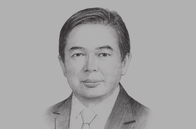 Sketch of <p>Dato Mohd Amin Liew Abdullah, Deputy Minister, Ministry of Finance; and Chairman, Brunei Economic Development Board (BEDB)</p>