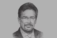 Sketch of <p>&nbsp;Pierre Imhof, CEO, Baiduri Bank</p>