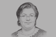 Sketch of <p>Hanna Tetteh, Minister of Foreign Affairs and Regional Integration, Republic of Ghana</p>