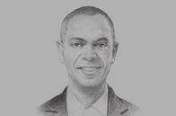 Sketch of <p>Gervase Warner, President and Group CEO, Massy Holdings</p>