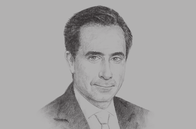 Sketch of <p>Jorge Familiar, Vice-President for Latin America and the Caribbean, World Bank</p>