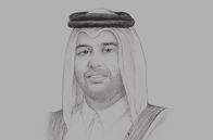 Sketch of <p>Sheikh Ahmed bin Jassim bin Mohamed Al Thani, Minister of Economy and Commerce; and Vice-Chairperson, Qatar Investment Authority</p>