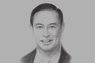 Sketch of <p>Thomas Lembong, Chairman, Indonesia Investment Coordinating Board (BKPM)</p>